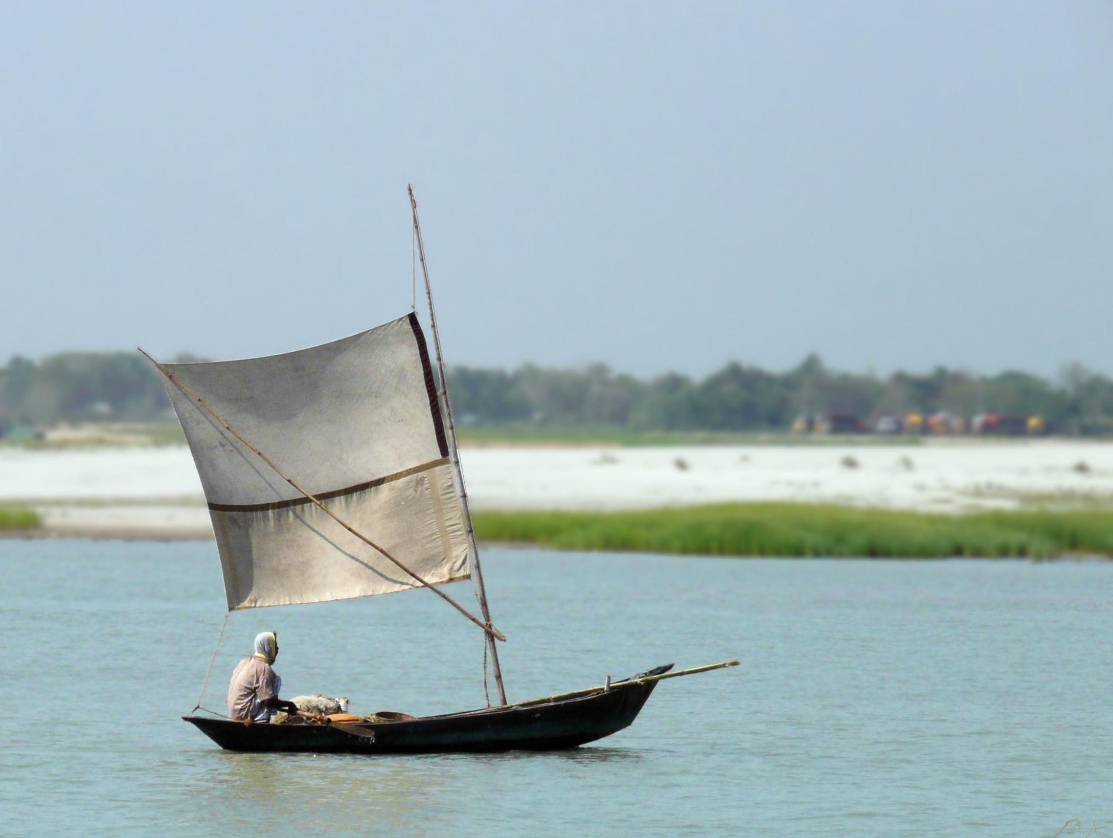 Boat_Sailing_up_Padma_River_Bangladesh