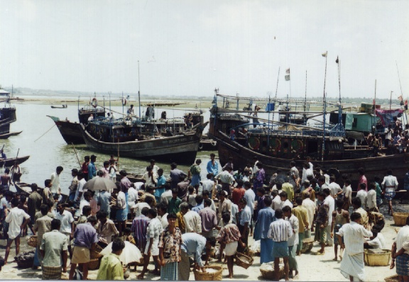 Mechanised trawler (sea going trawler) at Cox's Bazar