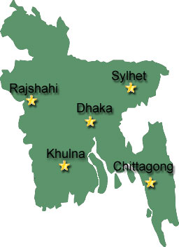Cities of Bangladesh
