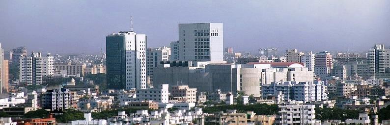 Dhaka Skyline