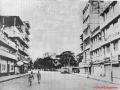 The streets of Dhaka. Eerily empty on the morning of March 26, 1971