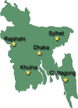 Cities of Bangladesh